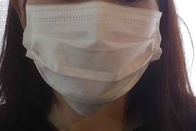 ガレイドサニタリーメンバーのマスク正面
