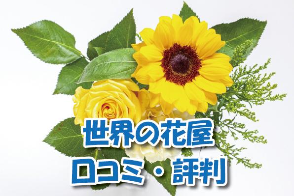 世界の花屋の口コミ