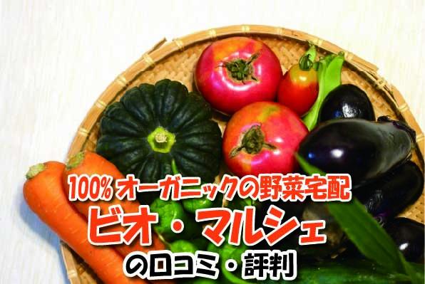100%オーガニックの野菜宅配 ビオ・マルシェの口コミ
